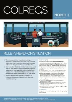 NORTH - Colregs Rule 14