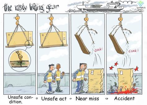 Near Miss - Lifting Gear